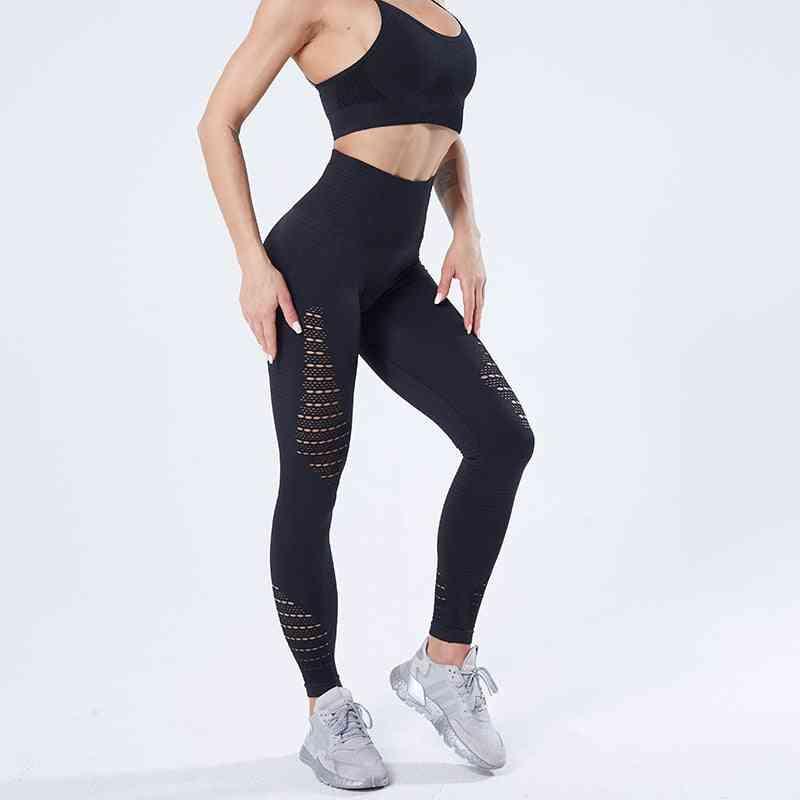 Women Yoga Pants, Sports Running Sportswear Stretchy Fitness Leggings