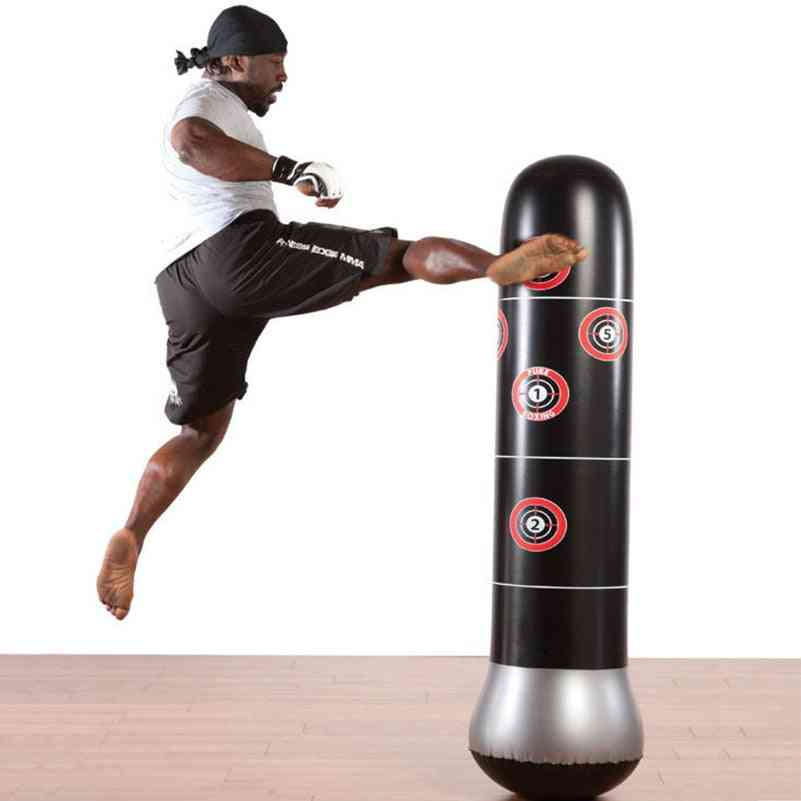 Boxing Punching Bag -inflatable Free-stand Tumbler