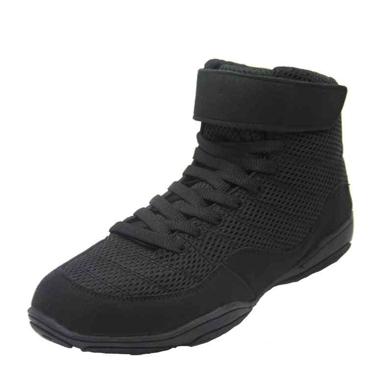 Non-slip Sneakers Professional Men Boxing Shoes