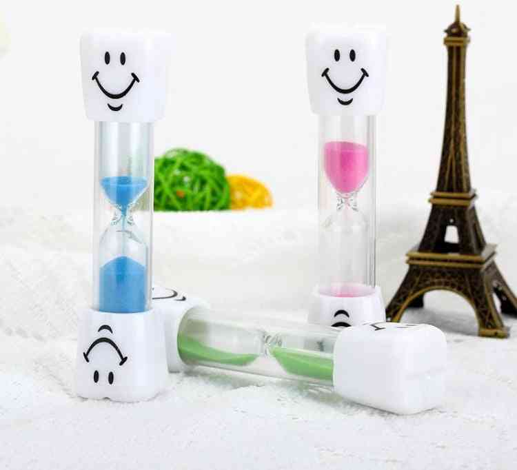 Children Hourglass Toothbrush Timer Smiling Face