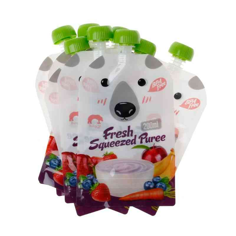 High-quality Resealable Fresh Squeezed Pouches