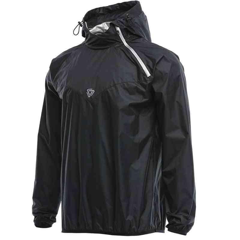 Long Sleeve Hooded Sportswear Sweating Jacket
