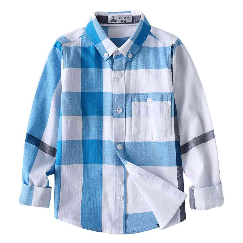 100% Cotton Full Sleeve Casual Shirt For Kids