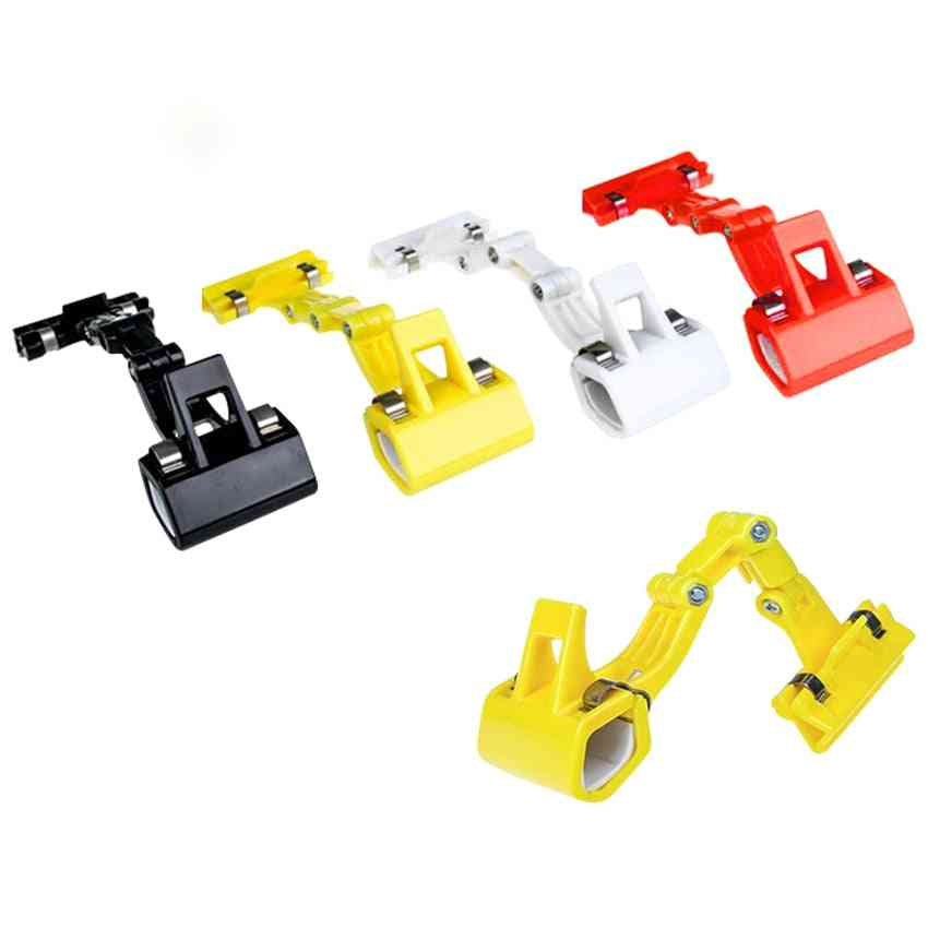 Double Head Rotatable Picture Copy Holder Painting Clip Clamp