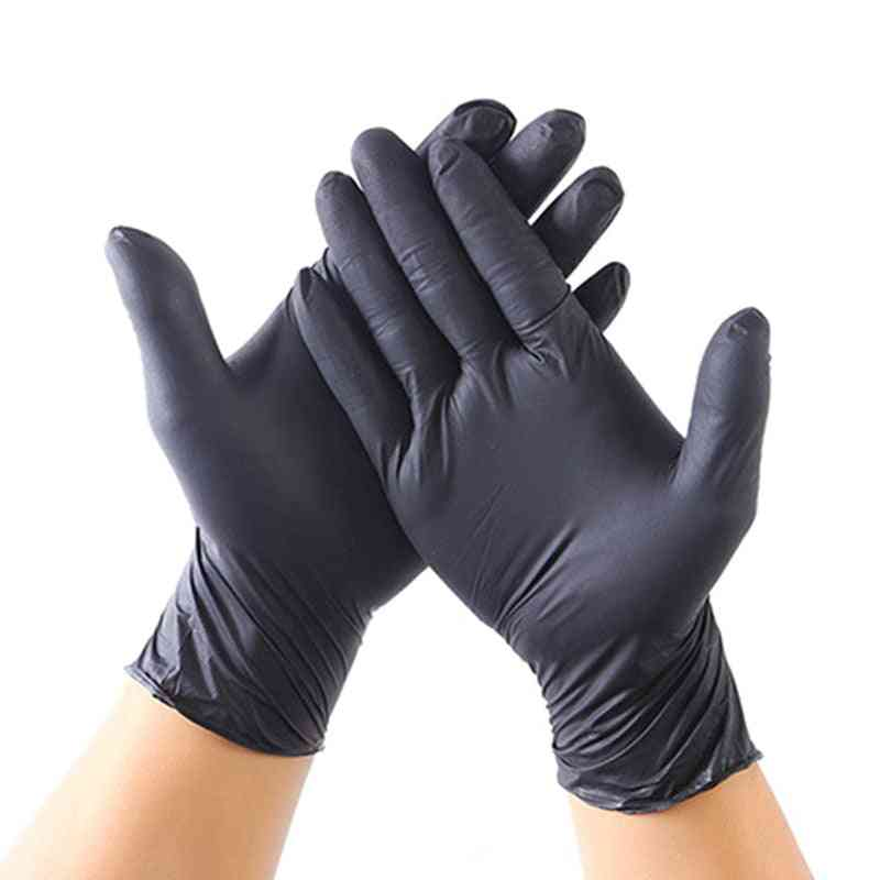20 Disposable Nitrile Gloves For Food Use, Industrial, Hospital, Lab, Extra Thick, Kitchen Disposable Gloves