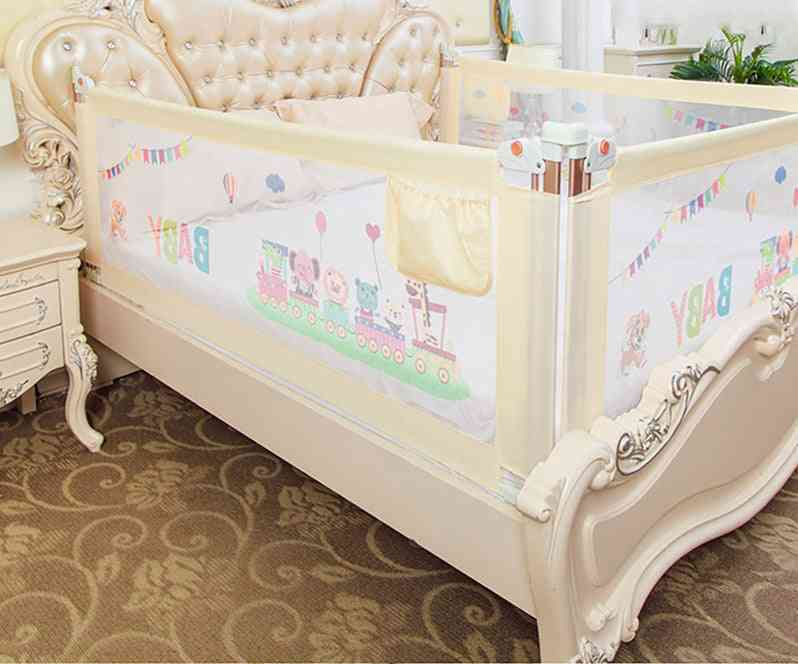 Child Barrier For Beds Crib Rail Security Fencing For Guardrail Safe Kids Playpen, Bed Fence Safety Gate