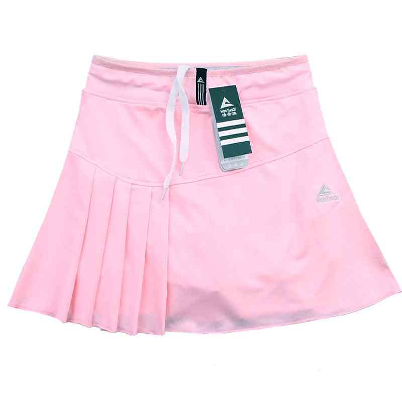 Tennis Skort Running Sports Skirt With Pocket And Safety Shorts's