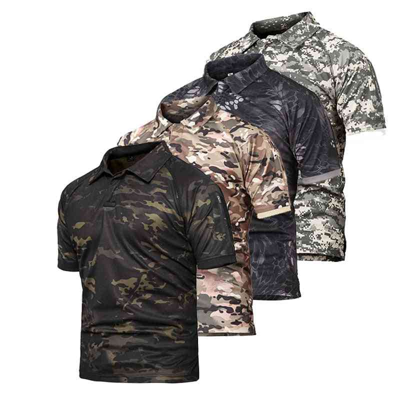 Outdoor Sports Camouflage T-shirt