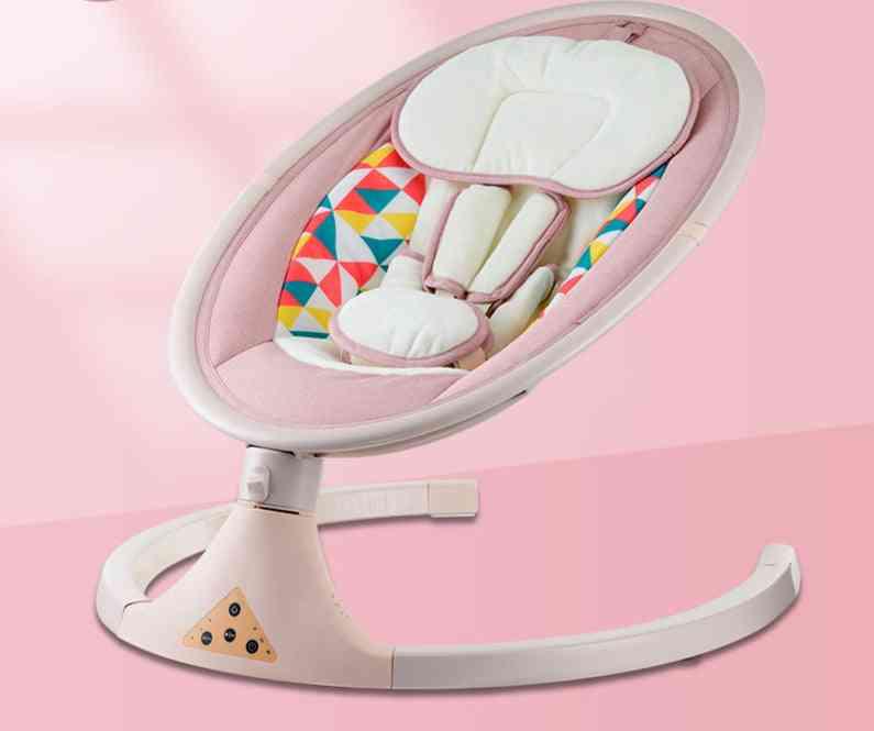 Baby Bouncer Newborn Calm Chair Belt Remote Control