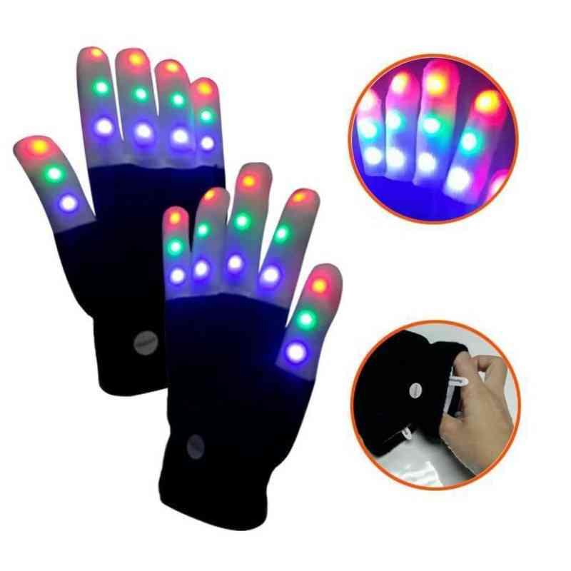 Children Led Gloves, Finger Light Up Glove
