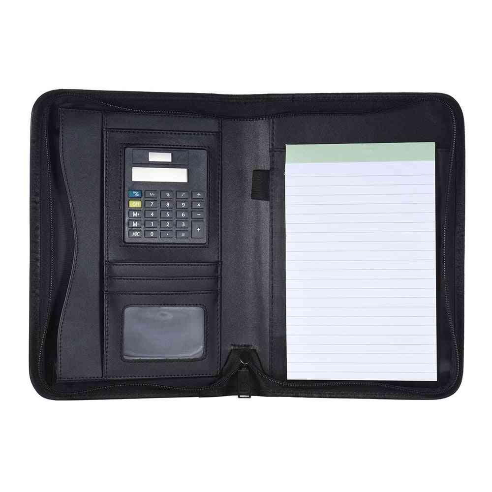 Portable Professional Business Padfolio Folder