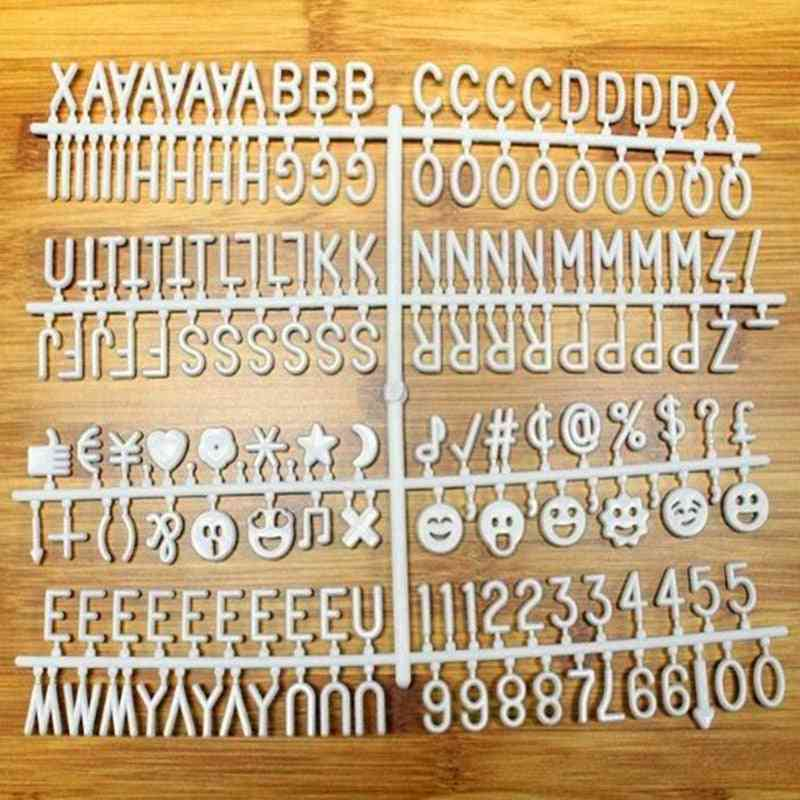 Ceartive Characters For Felt Letter Board, Numbers For Changeable, Christmas School, Office Supplies