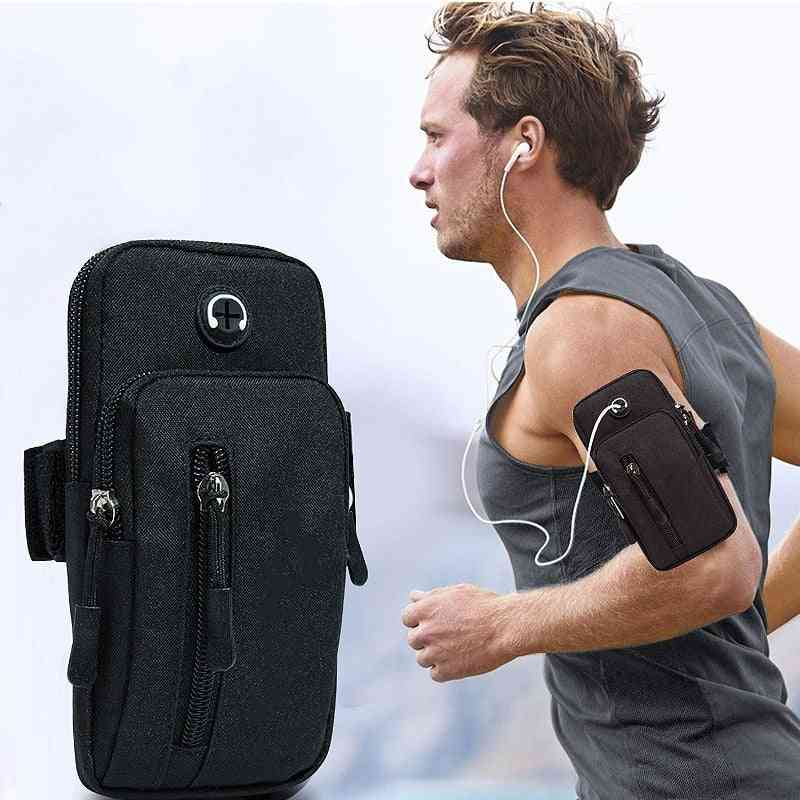 Running Men Women Arm Bags For Phone Money Keys Outdoor Sports Arms Package Bag With Headset Hole