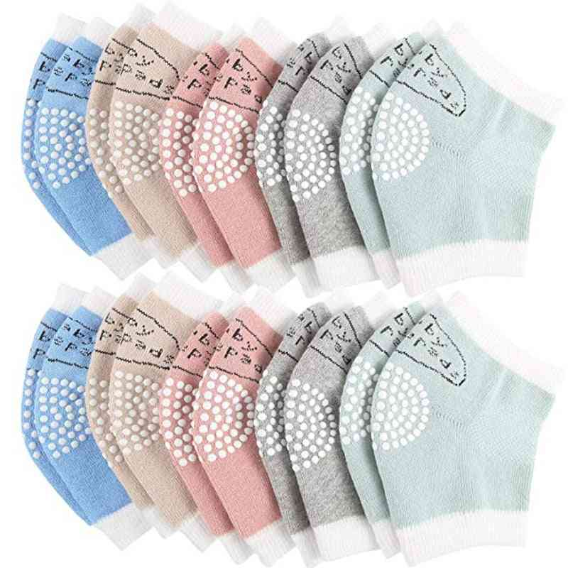 10 Pairs Baby Crawling Anti-slip Knee Pads And Elbow Pads