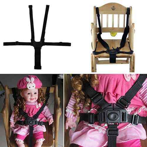 Baby 5 Point Safe Belt For Stroller Chair Pram Buggy Infant Seat Strap Harness Nylon For Baby
