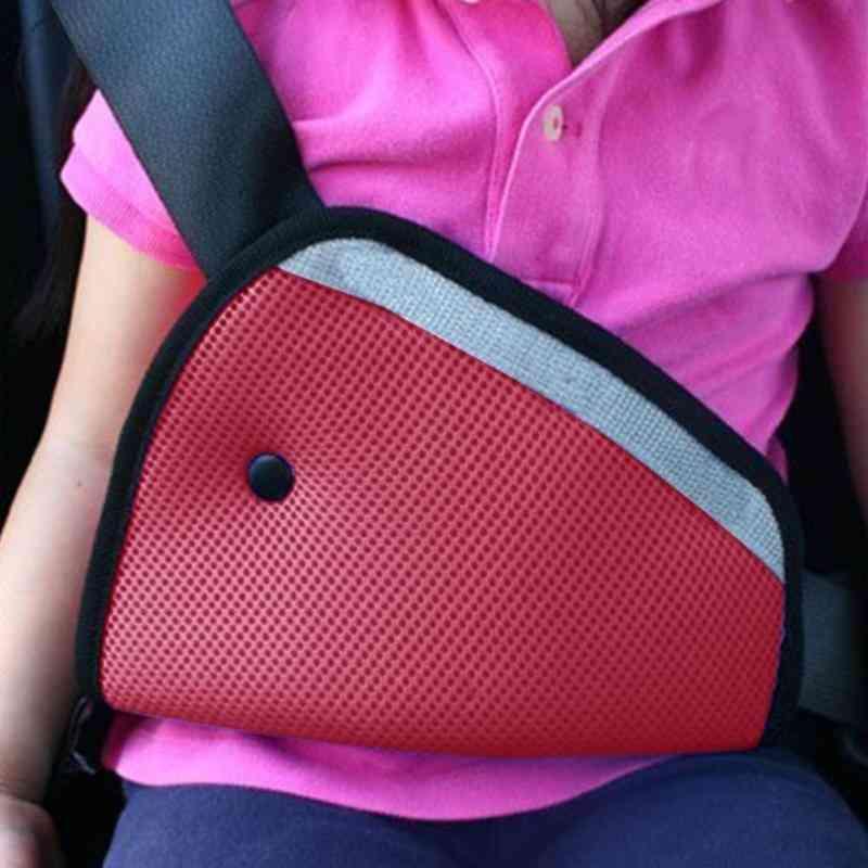 1pc Car Child Safety Cover Shoulder Seat Belt Holder Adjuster Kid Car Safe Fit Seat