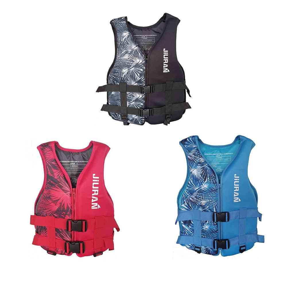 Life Vest Neoprene, Water Sports Buoyancy Jacket, Swimming Vest, Boating, Surfing, Baby