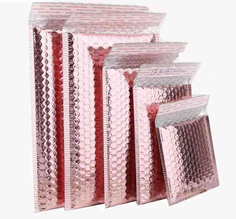Rose Gold Bubble Envelope, Foam Foil, Mailing Bag For Packaging