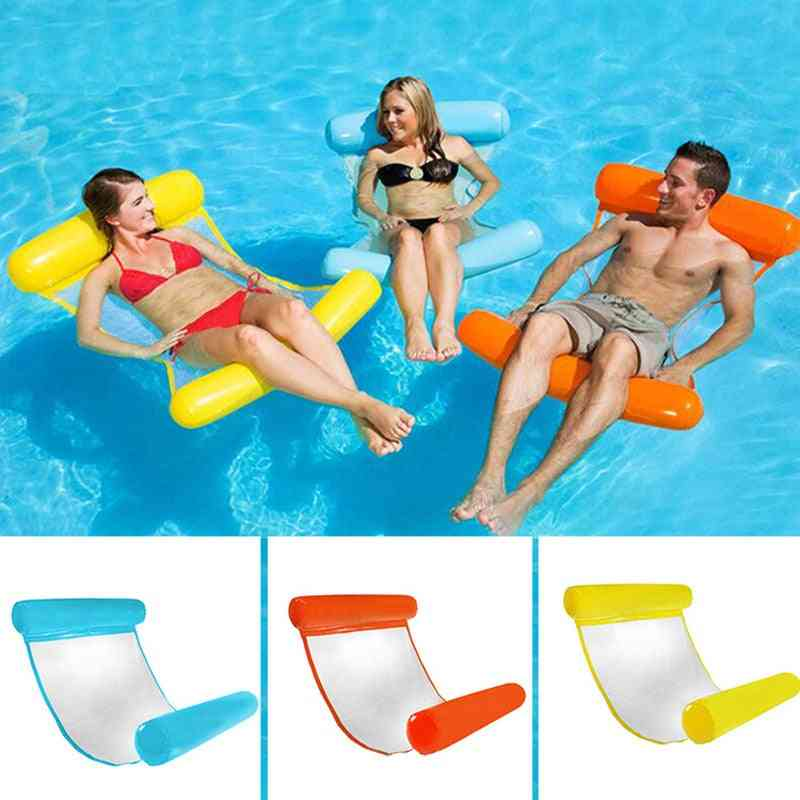 Foldable Inflatable Mattress For Swimming Pool