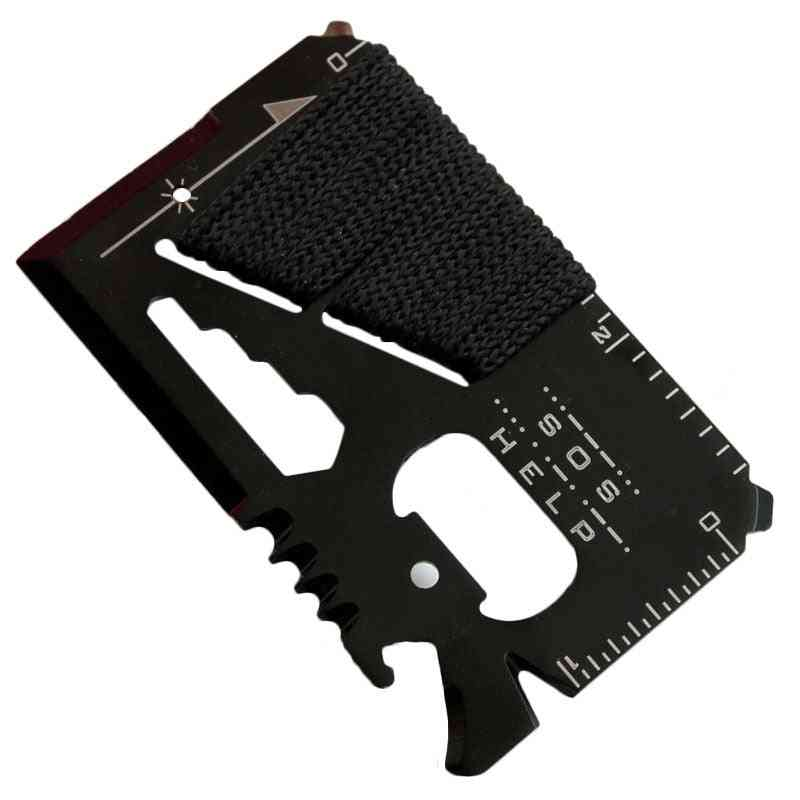 Edc Credit Card, Pocket Hunting Knife For Outdoor Sports, Camping, Hiking Tools