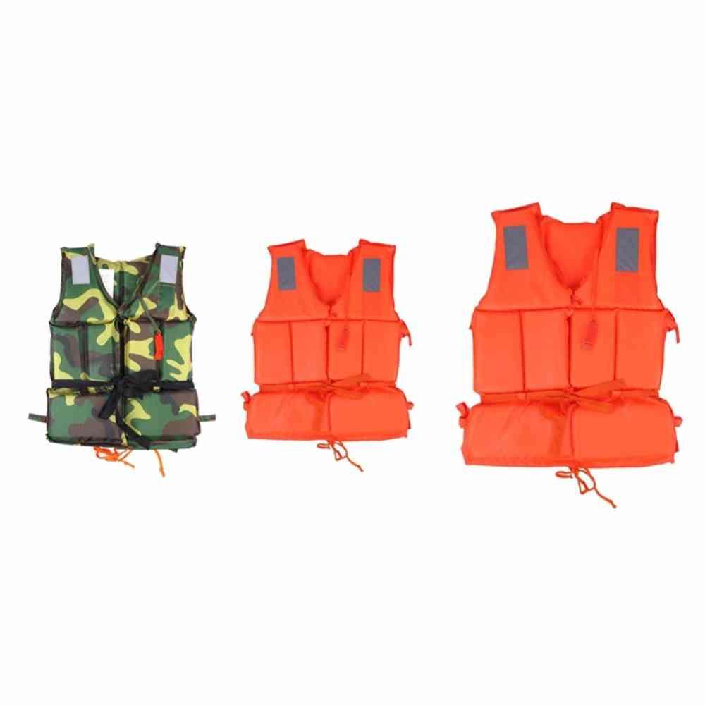Child Adult Swimming Life Vest Boat Beach Safety Emergency Jacket