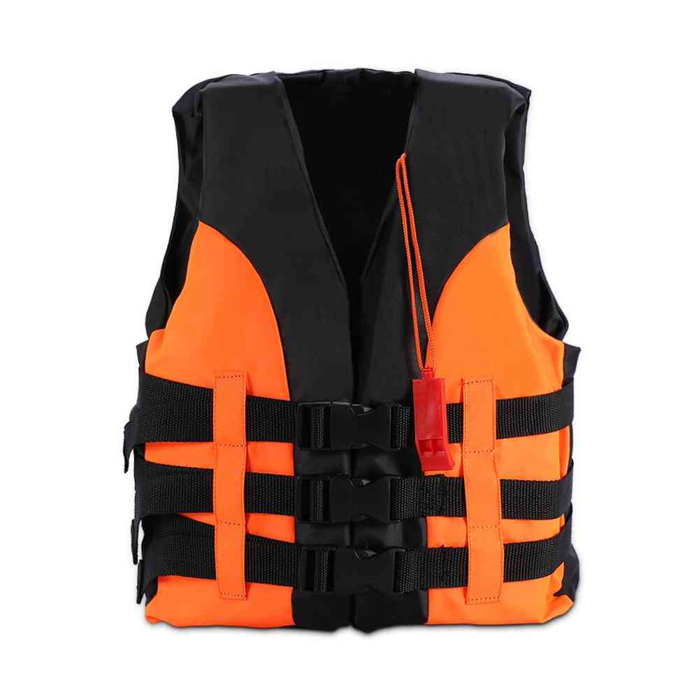 Life Vest, Boating Drifting Water-skiing Safety Jacket Swimwear With Survival For
