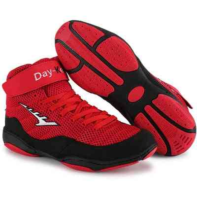 Boxing Wrestling, Fighting & Weightlift Shoes, Soft Wearable Training Boots