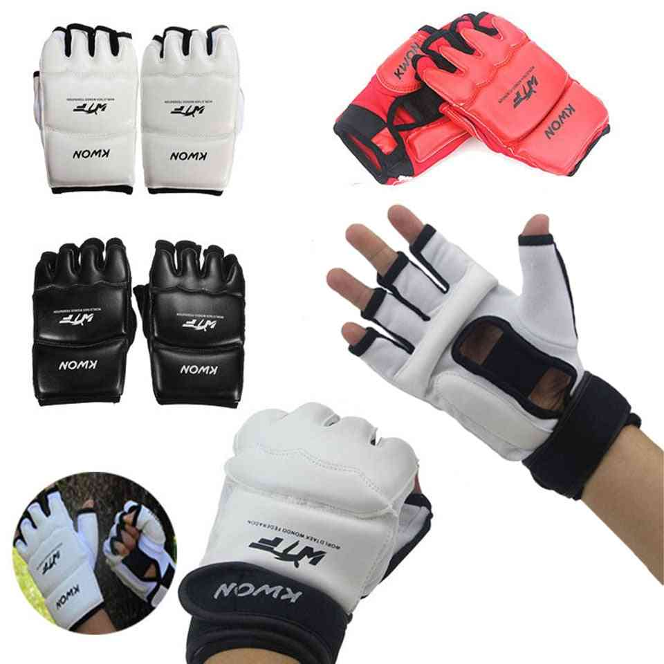 Half Finger Fight Boxing Gloves