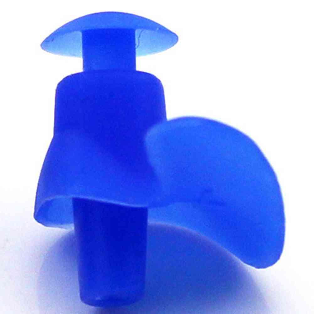 Soft Ear Plugs Environmental Silicone Waterproof Dust-proof Earplugs