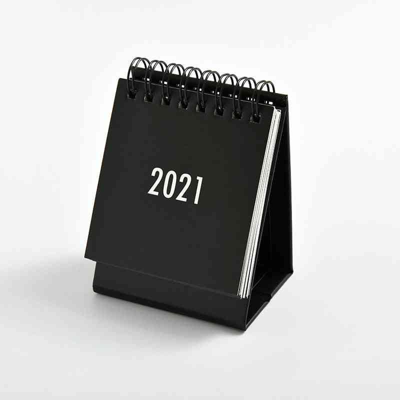 Desk Mini Calendar, Paper Protable-desk Accessories