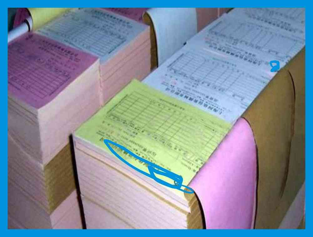 Cheap Carbonless Copying Paper For Office Stationery