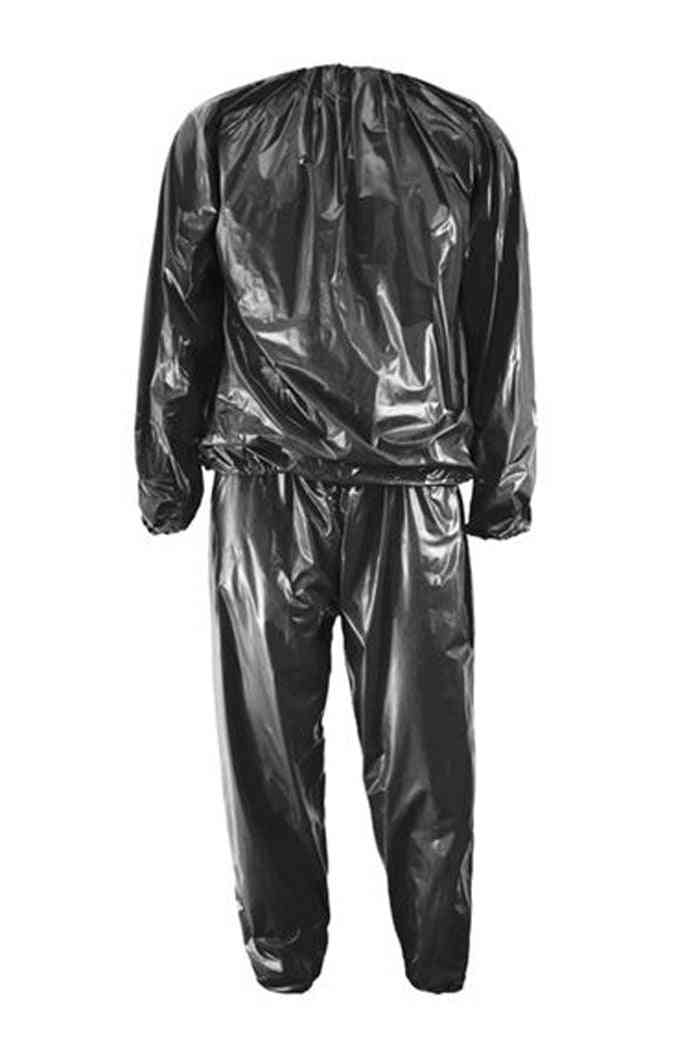 Heavy Duty Fitness Weight Loss Sweat Sauna Suit, Exercise Gym Anti-rips
