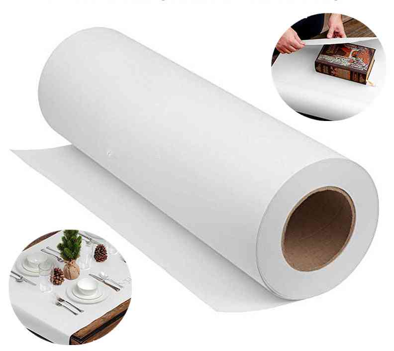 Natural White Kraft Paper Roll For Wedding, Birthday Party