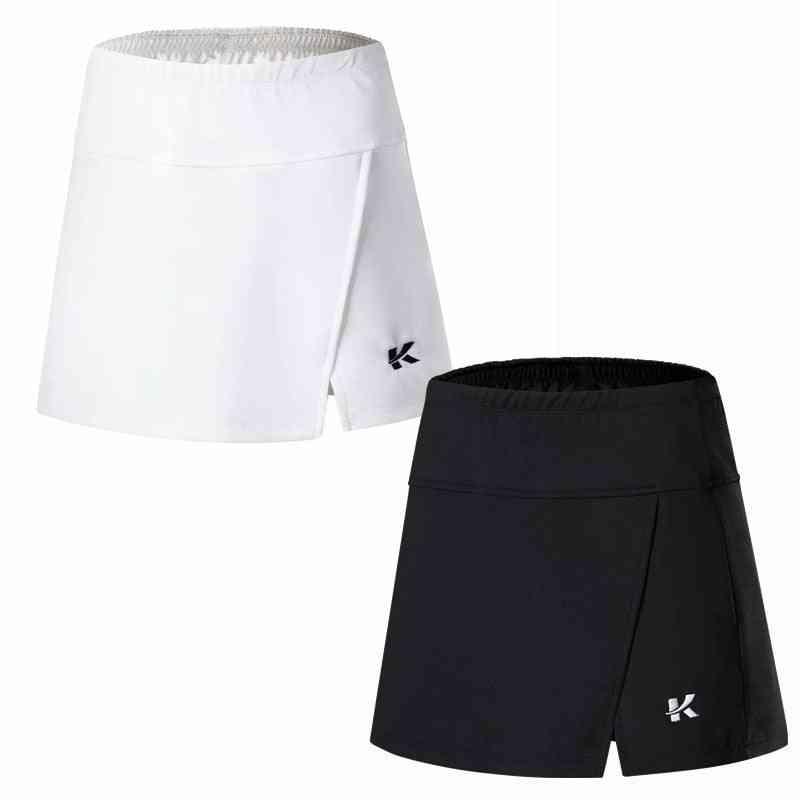 Breathable Anti Leakage Yoga Jogging Sports Women Skirt With Short