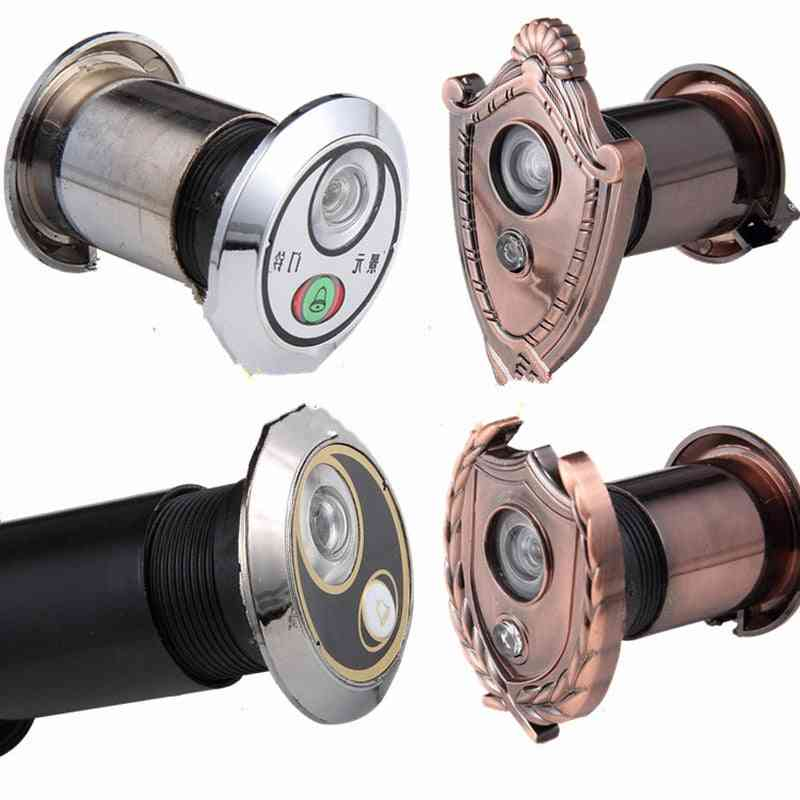 220 Degree Wide Angle Peephole Door Viewer With Doorbell