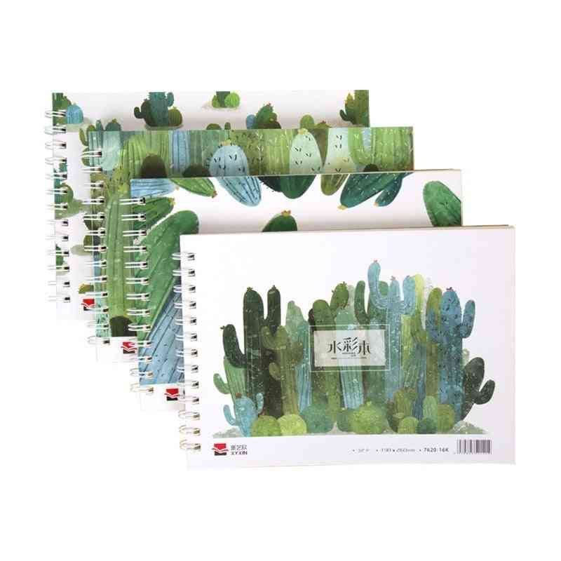 A4 16k Watercolor Painting Color Book