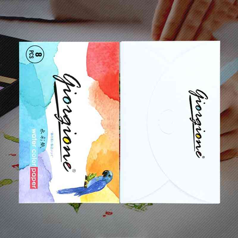 Pure Wood Pulp Watercolor Painting- Sketch Paper Set