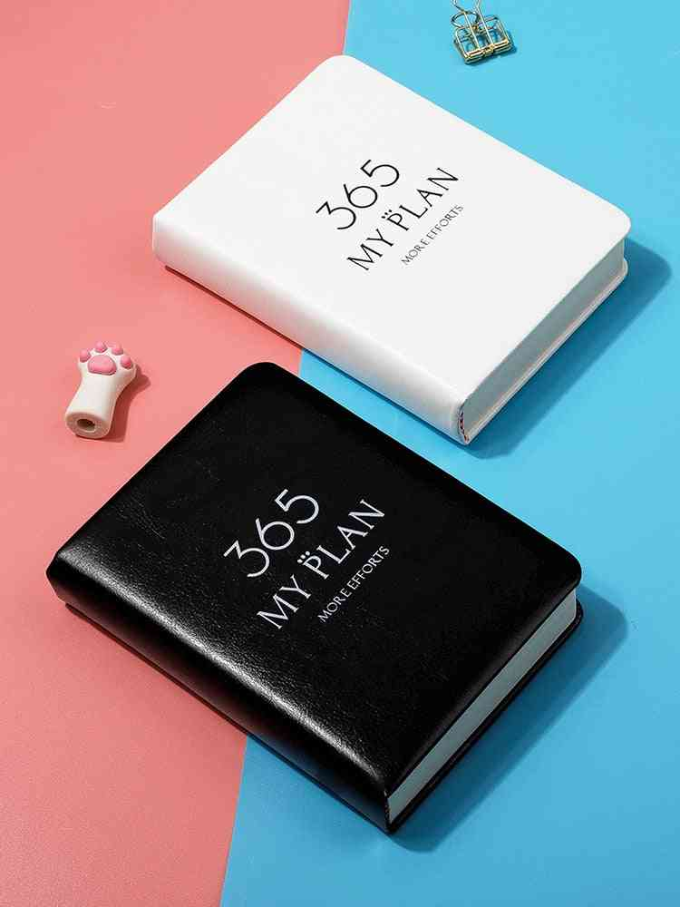 Student Plan Notebook, Pocket Simple Small Daily Planner Organizer