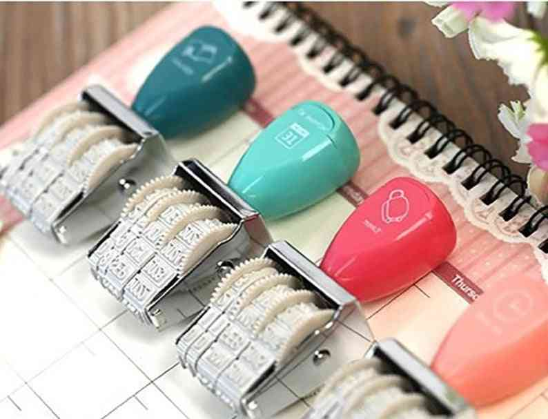 Cute Rubber Stamps With Adjustable Date