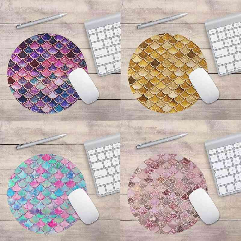 Mermaid Skin Pattern, Unique Mouse Pad For School/office
