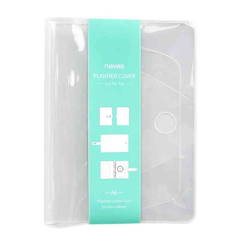 Transparent Soft Fit - Plastic Book Cover / Pouch