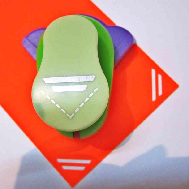 New Straight Line Border Corner Punch Embossing Scrapbooking Handmade Edge Device