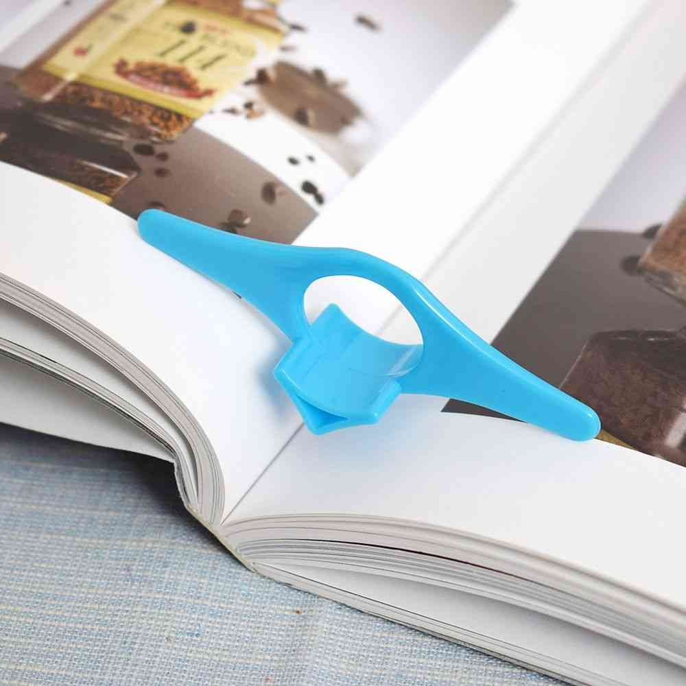 Multifunction Thumb Book Page Holder For School, Office Stationery