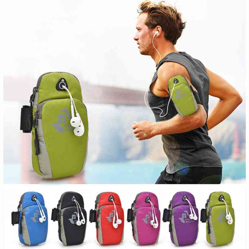 Waterproof Nylon Cell Holder Bag For Hiking Running Accessories