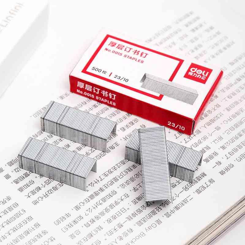 1pack Office Metal Standards Silver Normal Staple