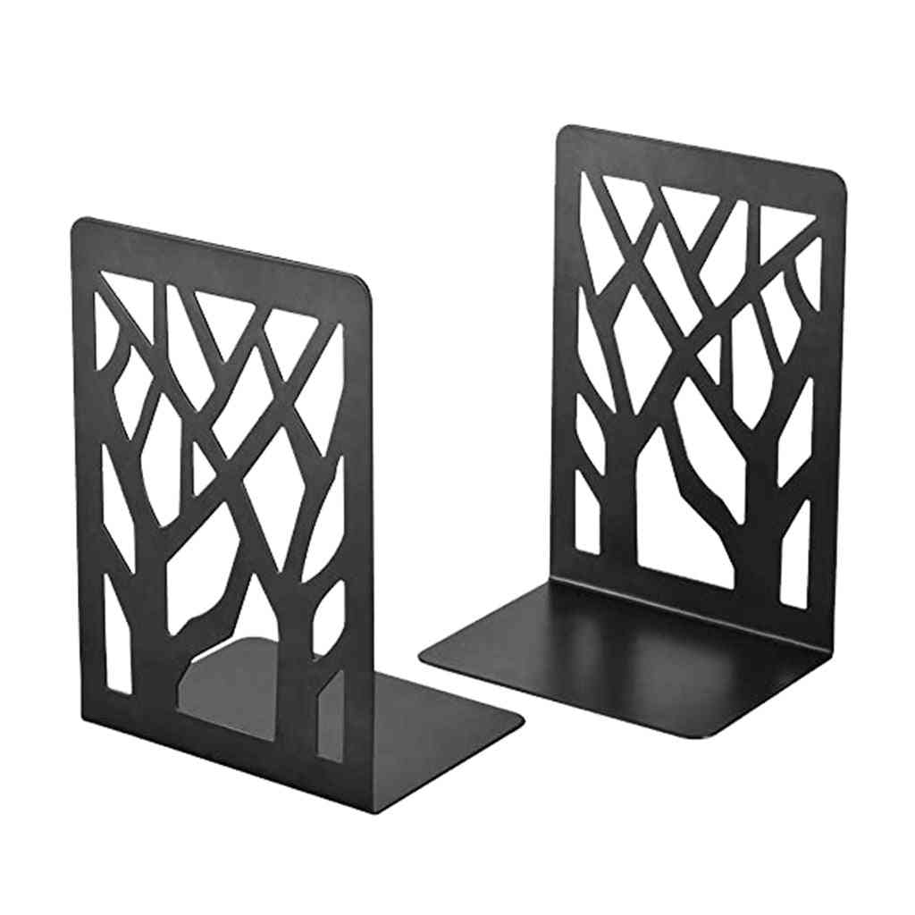 Non-slip, Bookend Bracket, Heavy Book End For Office, Book Stopper