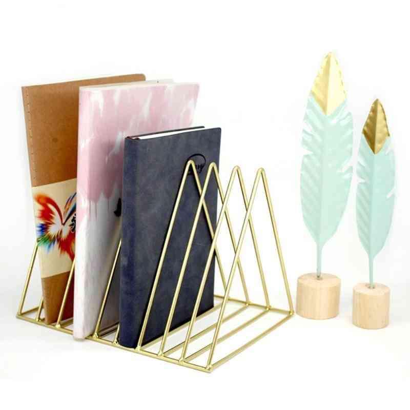 9-grid File Storage Shelf Book Stand Desktop