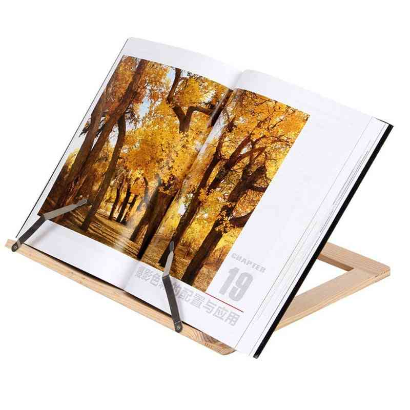 Lectern Wooden Reading Book Support Stand