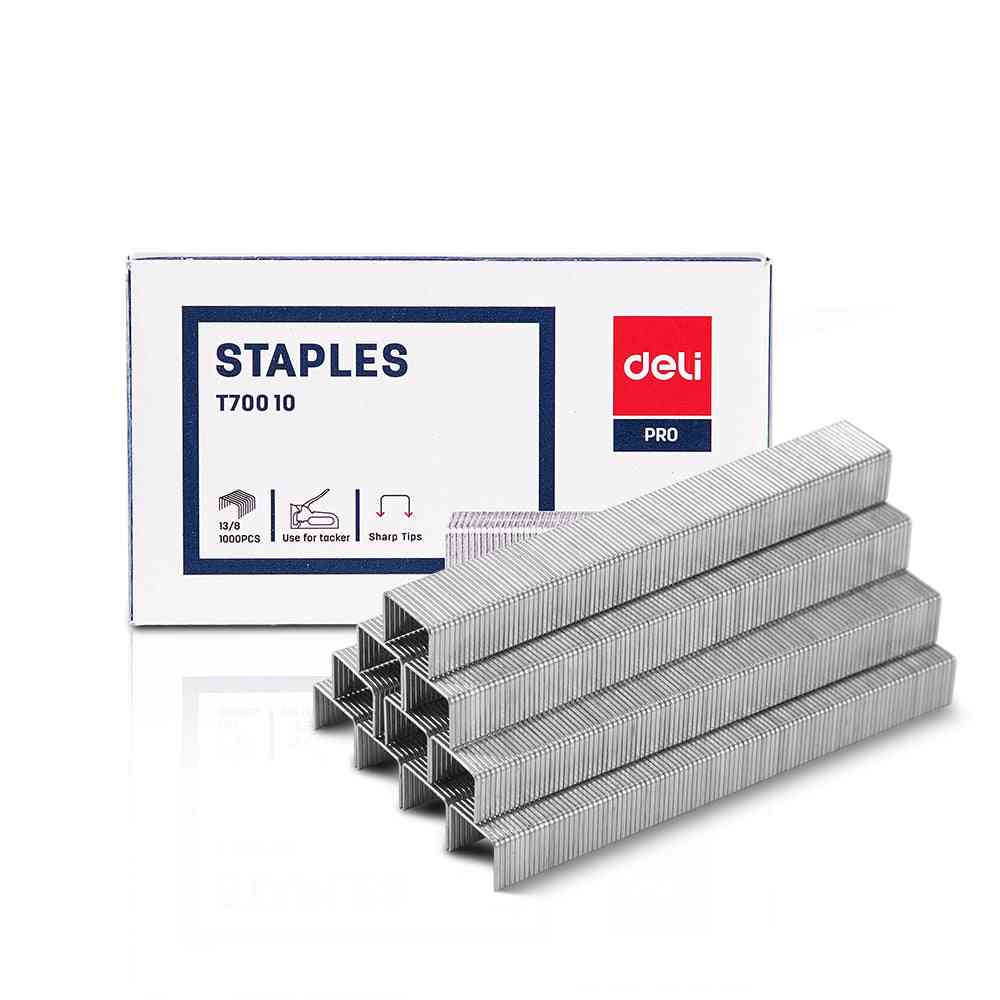 Tacker Staples, Zinc Plated Wire Iron
