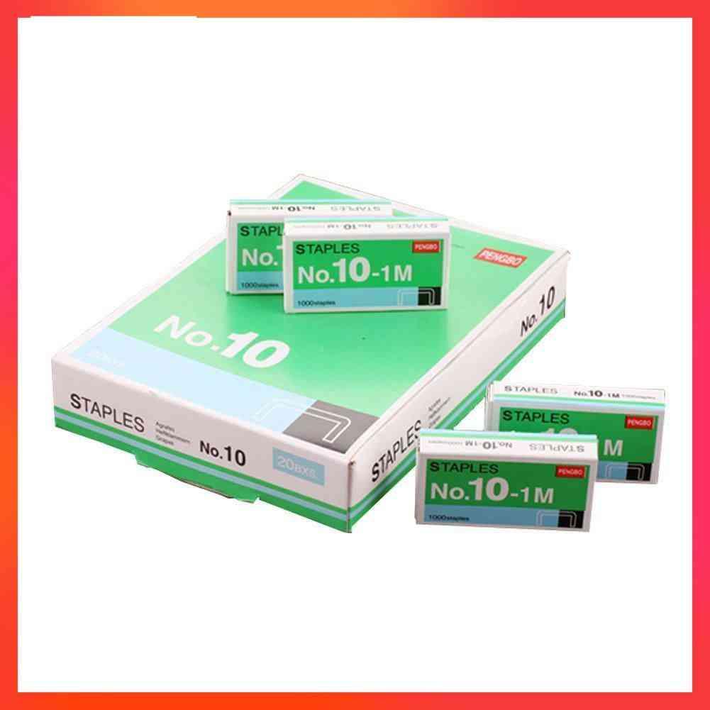 Staples Box For Desktop Stapler Accessories, Normal Metal Tapetool